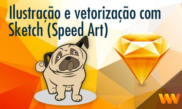 Vetorizando com o Sketch App ( Speed Art )